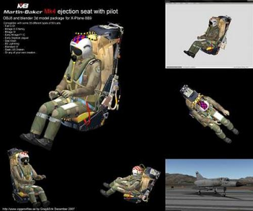 Product picture Martin Baker Mk4 Ejection seat